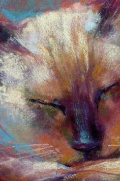 Maya Blue, painting by artist Karen Margulis