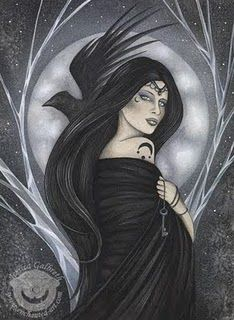 Nyx, she's the greek goddess of the night.