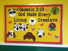 God made every living creature