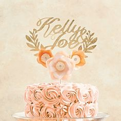 Cake Topper Workshop