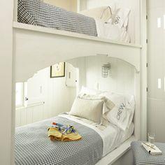 Cool bunk bed idea