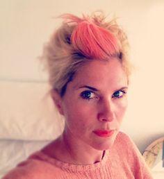 #New peach hair!!!! #serra