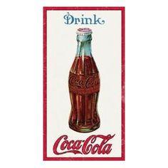Coca- Cola Tin Sign , 9x16