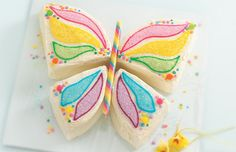 Easter Butterfly Cake