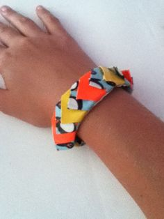 How To Make A Spiked Duck Tape Bracelet #jewelry #kids