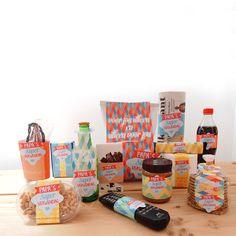 Voor vaderdag: Download gratis deze vaderdaglabels en plak ze op de favoriete producten van je vader! | © Papiergoed