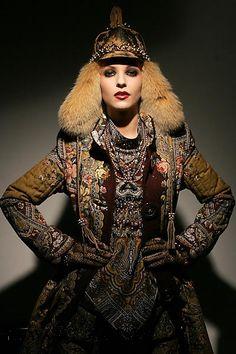Russian winter russian winter, tribal fashion, winter style, fashion visit, ethnic style, winter visit