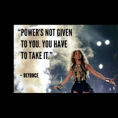 Beyonce - recording artist, actress #internationalwomensday #beyonce #inspiration #quotes