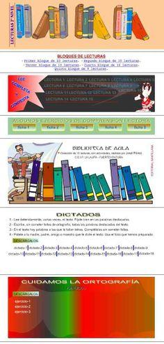 Recursos de Primaria. Tercer curso: COMPRENSION LECTORA