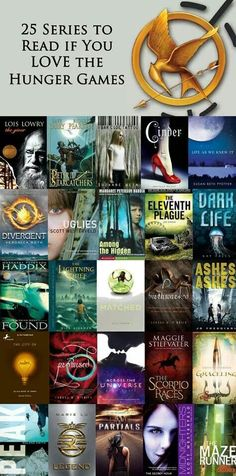 25 books to read if you love the Hunger Games...maybe if I have find that illustrious thing called free time....