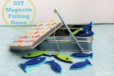 Magnetic fishing game Crafts