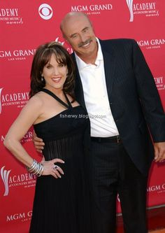 Dr. Phil McGraw and wife Robin McGraw
