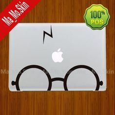 3M/Harry Potter-Macbook Decals Macbook Stickers Mac Cover Skins Vinyl Decal for Apple Laptop Macbook Pro/Macbook Air/Uniboday Partial skin