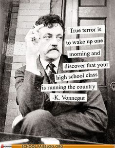 True terror...
