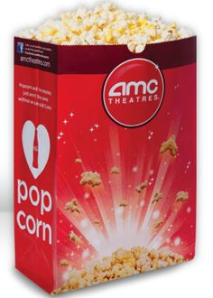 $1 Large Popcorn at