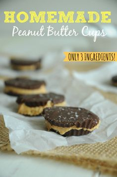 Homemade Peanut Butter Cups - This year, I decided that if I was going ...