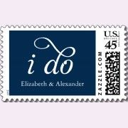 Cute...This site has all kinds and designs of wedding stamps - all approved by the USPS!