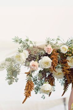 ✕ Lovely florals by Bash, Please. Photography by The Weaver House / #flowers