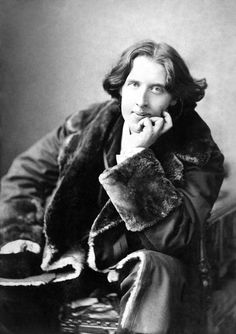 """This wallpaper and I are fighting a duel to the death. Either it goes or I do."" - Oscar Wilde. His dying words; how many of us could face death with humour?"