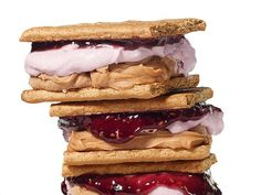 #FNMag's PBJ Ice Cream Sanwiches