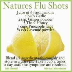 Nature's Flu Shot