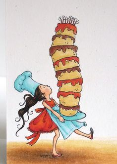 Alice's {Little} Wonderland: Tall Cake