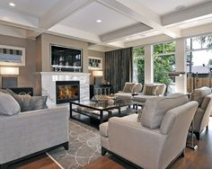 Living Room Trickett Family Room Design, Pictures, Remodel, Decor and Ideas - page 4