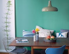 "dining room paint colors (this one is ""St. Patty's Day"" by Benjamin moore)."