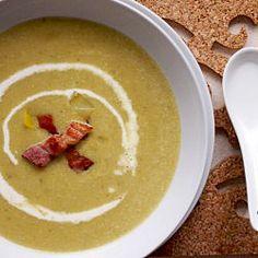Ramsay's leek and potato soup