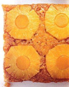 Pineapple-Mango Upside-Down Cake Recipe