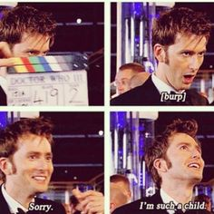 Just one of the many reasons to love David Tennant