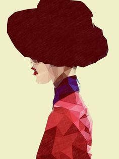 "Curioos.com | ""Chic Hat"" by Mayka Can2ienova  (Mexico) - http://pinterest.com/curioos"
