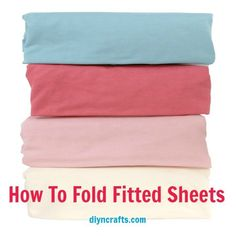 Great Laundry Tip – How To Fold Fitted Sheets