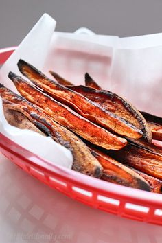 Sweet & Spicy Roasted Sweet Potato Wedges perfect for a fall appetizer, snack, or side dish! | C it Nutritionally  Vegan, Gluten-free, Food allergy-friendly!