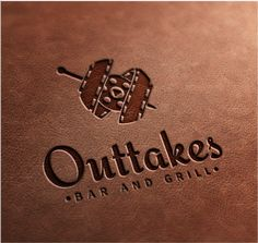 Outtakes Bar and grill logo