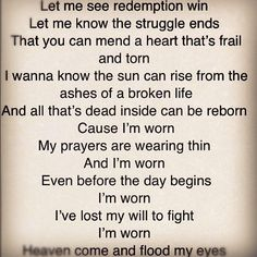 Redemption win... Worn by Tenth Avenue North