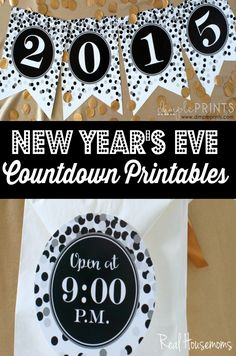 New Year's Eve Print