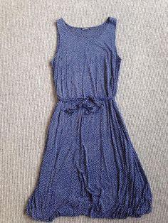 Marimekko Shift Dress Polka Dot Size L Designer Vintage Pattern Finland in Clothing, Shoes, Accessories, Women's Clothing, Dresses | eBay