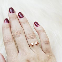 This rose gold ring is my favorite new everyday ring! www.mooreaseal.com