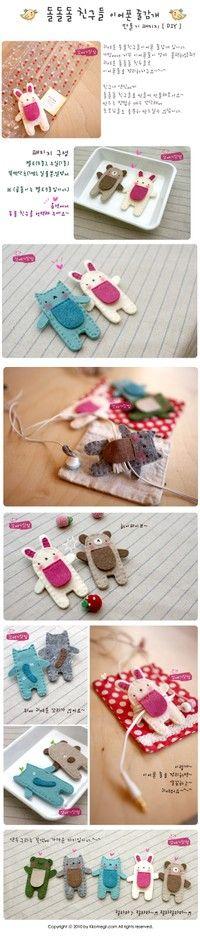 chicken toy doll fabric Felt embroidery ……_来自jane8251的图片分享-堆糖网