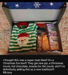 Christmas Eve Box for the kids!