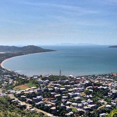 The view from Castle Hill, Townsville #townsvilleshines #lookout #view #instagram photo by dlhey