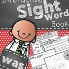 Free interactive book for sight word was!