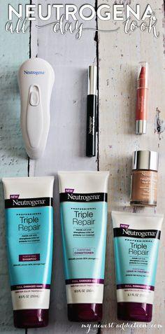 Neutrogena All Day Look #mynewestaddiction #bblogger #review #makeup - bellashoot.com