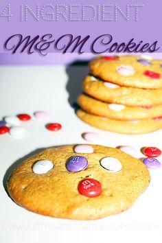 What! 4 Ingredient cookies?!