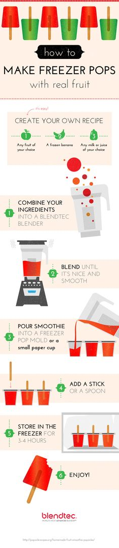 How to Make Frozen Ice Pops | Blendtec Blog