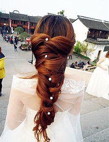 Hair inspiration #bridal #hairstyles