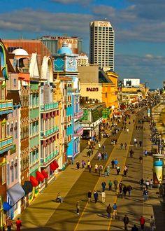 Atlantic City -Boardwalk, with Melanie