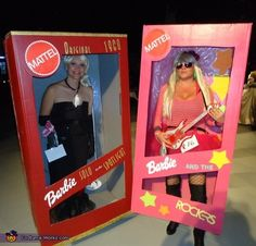 Barbies in a Box - 2012 Halloween Costume Contest