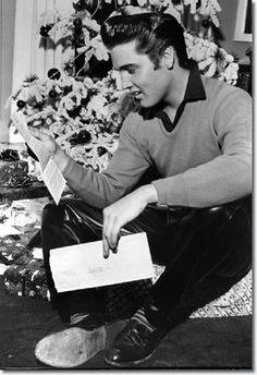 1957- December. Elvis receives his draft notice..